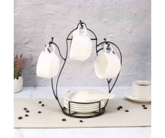 Kettle Shaped Cup Tree Holder
